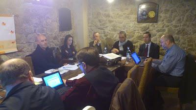 PArte e l patronato de l Fundación Premysa  durante la XV reunión