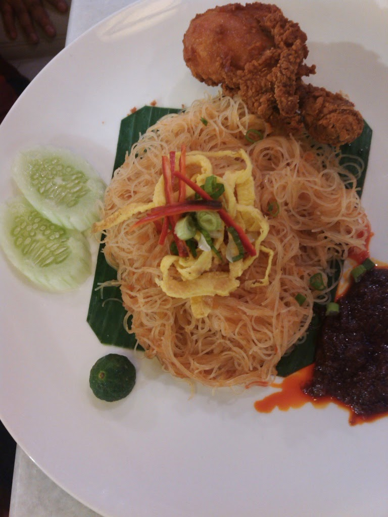 Minced Chicken Egg Noodle