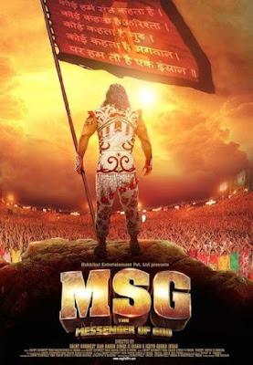 MSG The Messenger (2015) Hindi Movie 720p HDRip Download
