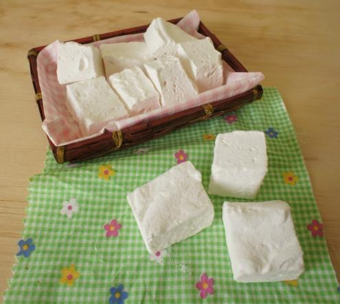marshmallows de baunilha