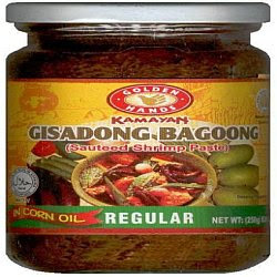 Bagoong or Sauteed Shrimp paste
