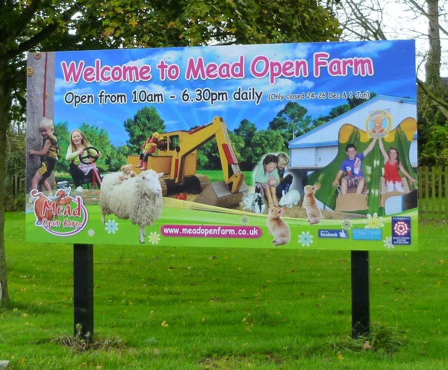 There's lots to see and do at Mead Open Farm in Billington, Bedfordshire