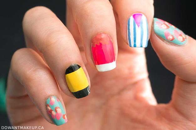 Ponyo nail art