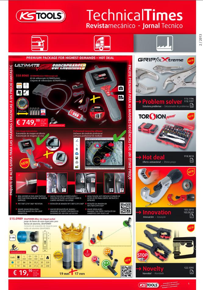 revista mecanico kstools 2013
