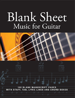 Blank Shet Music for Guitar