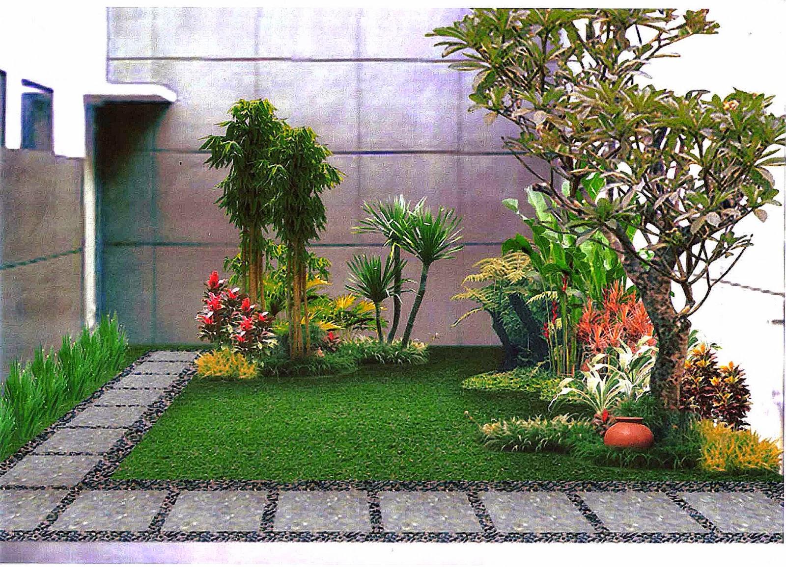 taman rumah minimalis   Rumah minimalis 2015