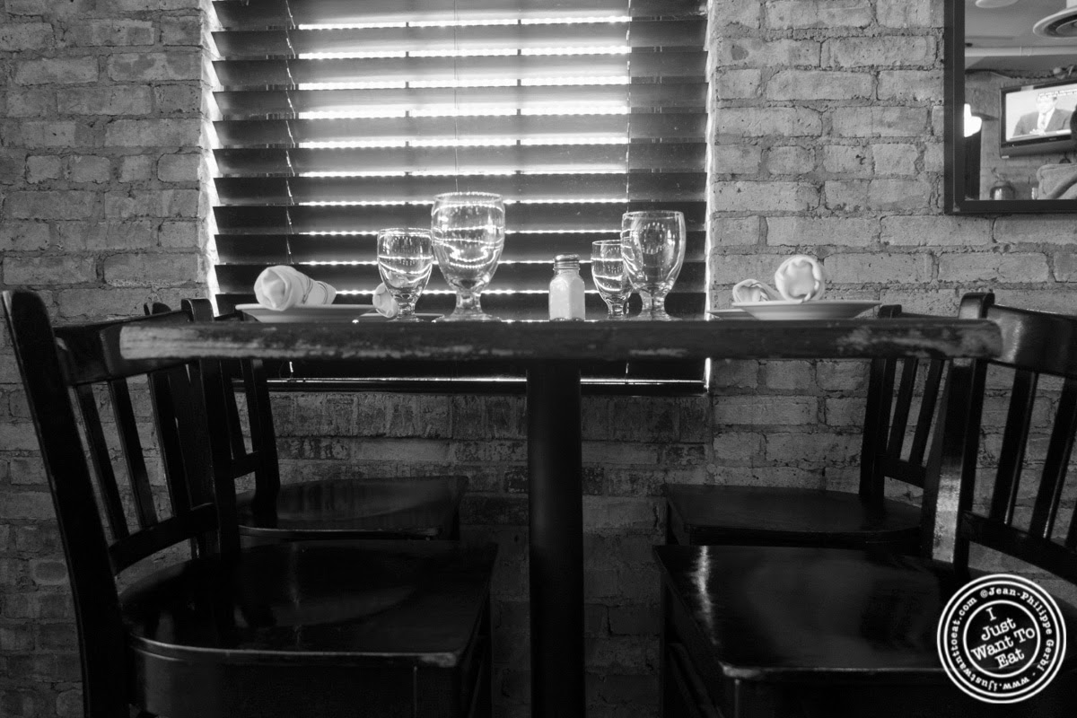 image of table at City Bistro in Hoboken, NJ