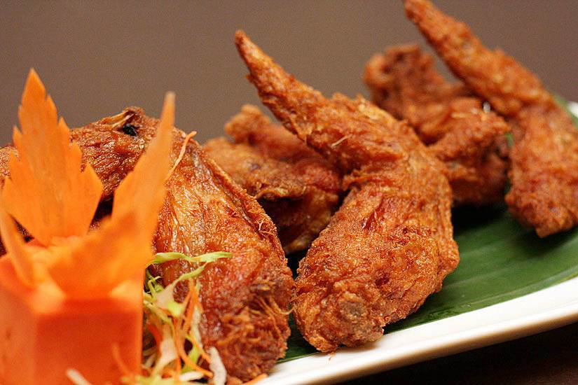 Prawn Paste Chicken Wings