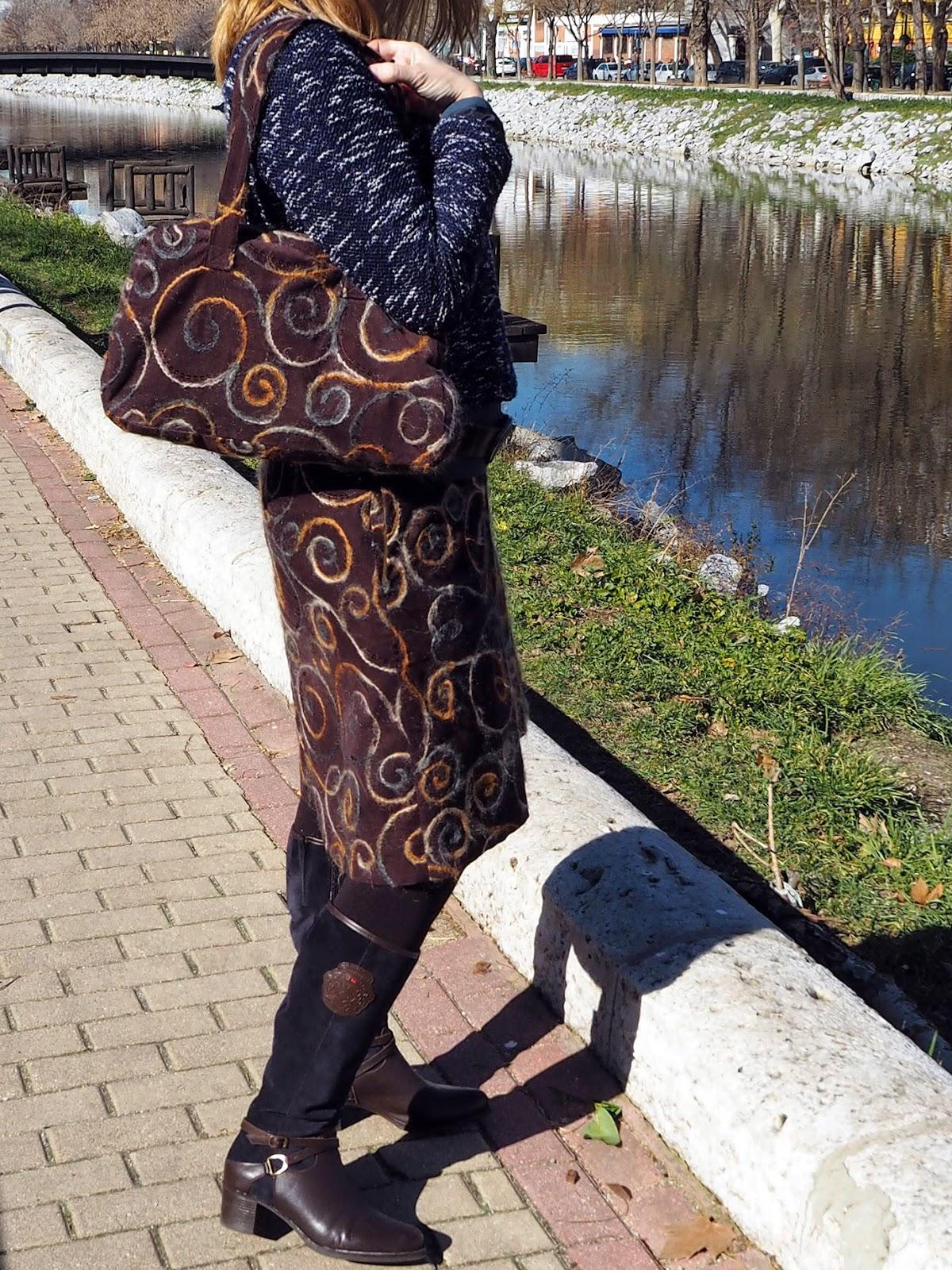 SanPini - Cosiendo y más: Una falda grande a juego con Willy