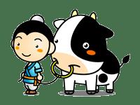 牛を引く彦星 | 無料で使える七夕のイラストや写真素材色々