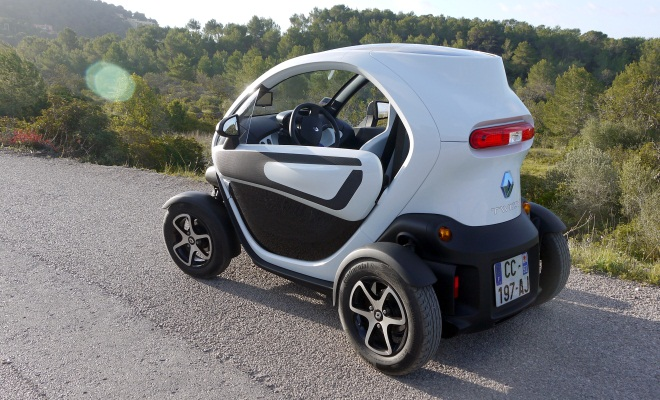 Twizy Technic from the side
