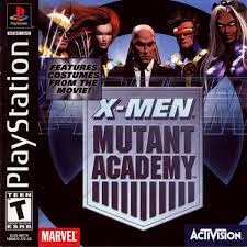 X-Men - Mutant Academy - PS1 - ISOs Download