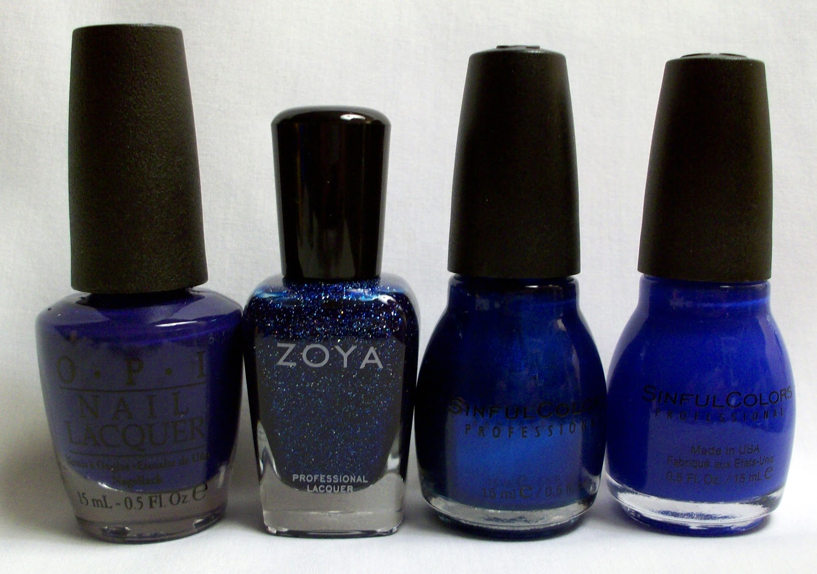 The Beauty Buffs - Royal Blue (Floral Nail Art Tutorial) - The ...