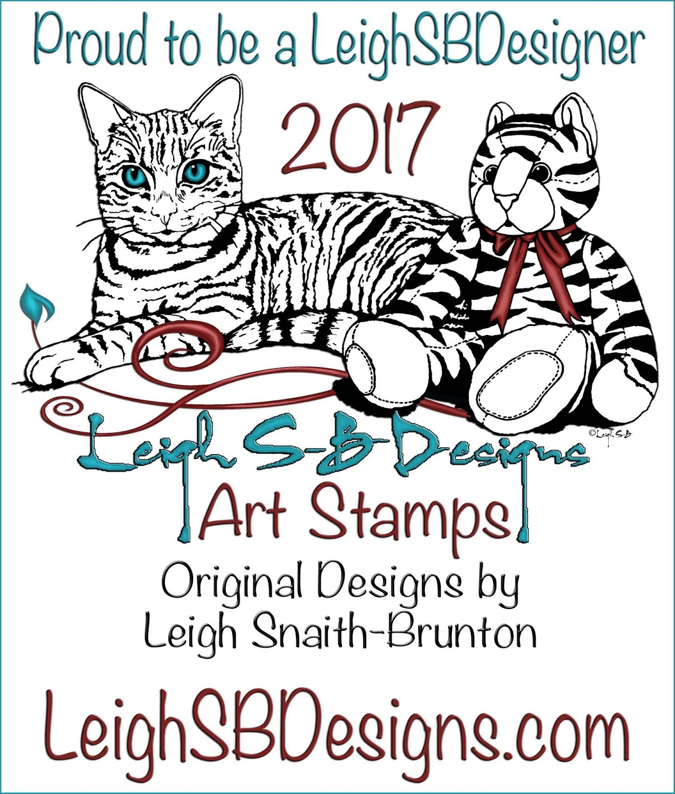 LeighSBDesigns Art Stamps