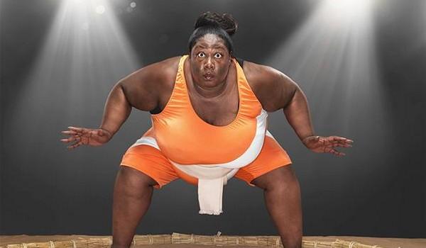 Luchadora de sumo más pesada del mundo