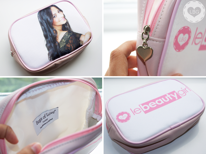 Bags of Love Personalised Makeup Bag