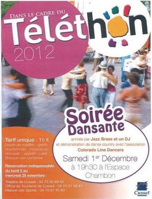 Téléthon 2012 Cusset