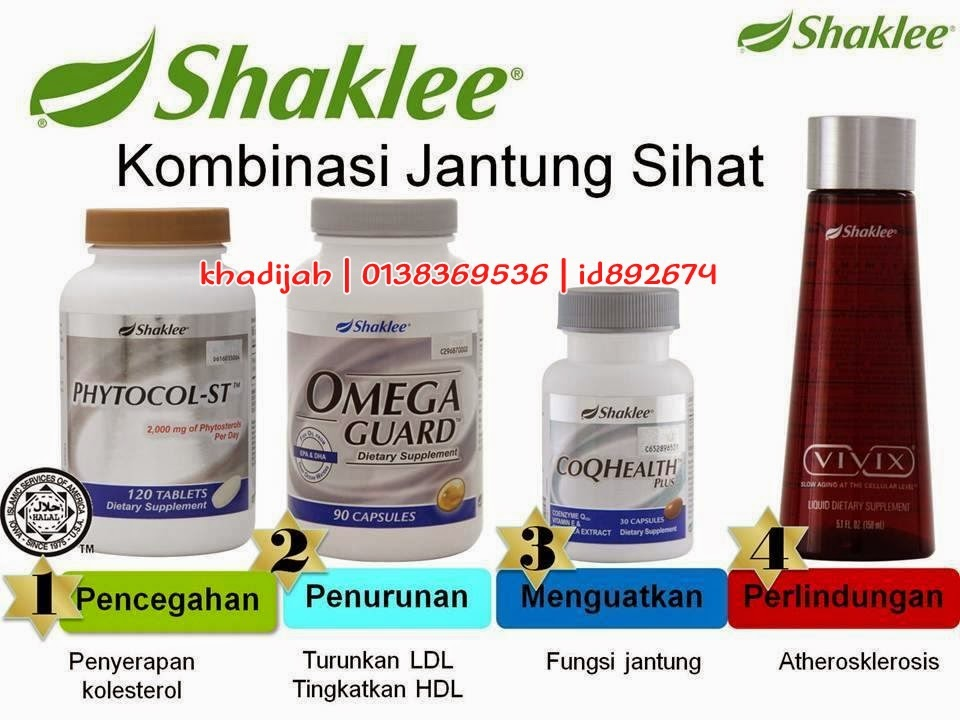 vitamin shaklee untuk kolesterol