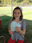 Julia with Cotton Candy