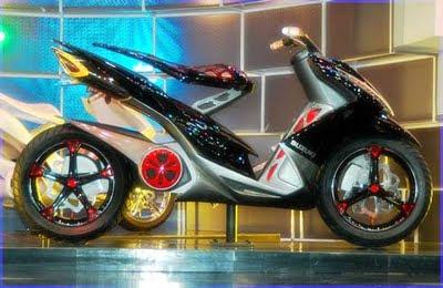 Modifikasi Suzuki Skydrive