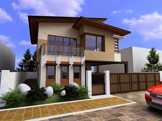 Modern asian exterior house design ideas all modern for Japanese exterior design