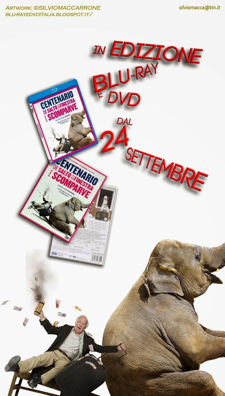 Blu ray dvd italia il centenario che salt dalla finestra e scomparve in edizione blu ray e - Il centenario che salto dalla finestra e scomparve libro ...