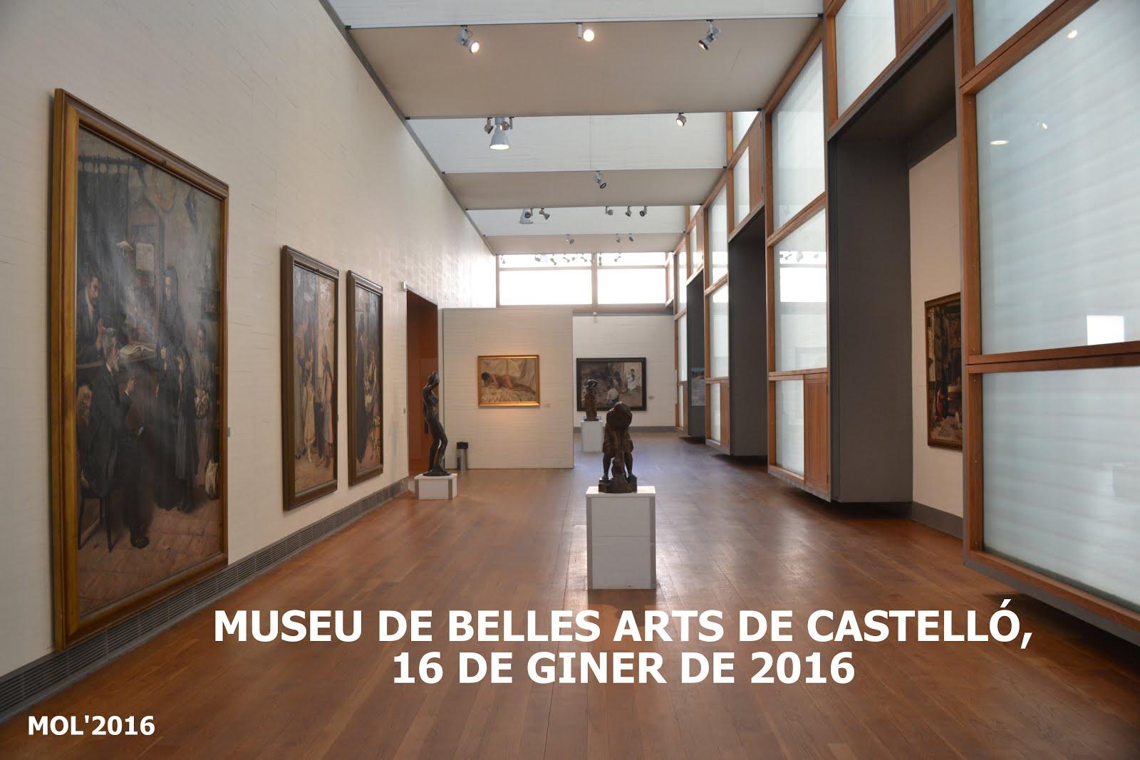16.01.16 MUSEU DE BELLES ARTS DE CASTELLÓ, PATRIMO- NI CULTURAL VALENCIÀ