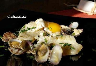 Uova alla vasca  ricetta di piatti di pesce ricco piatto unico