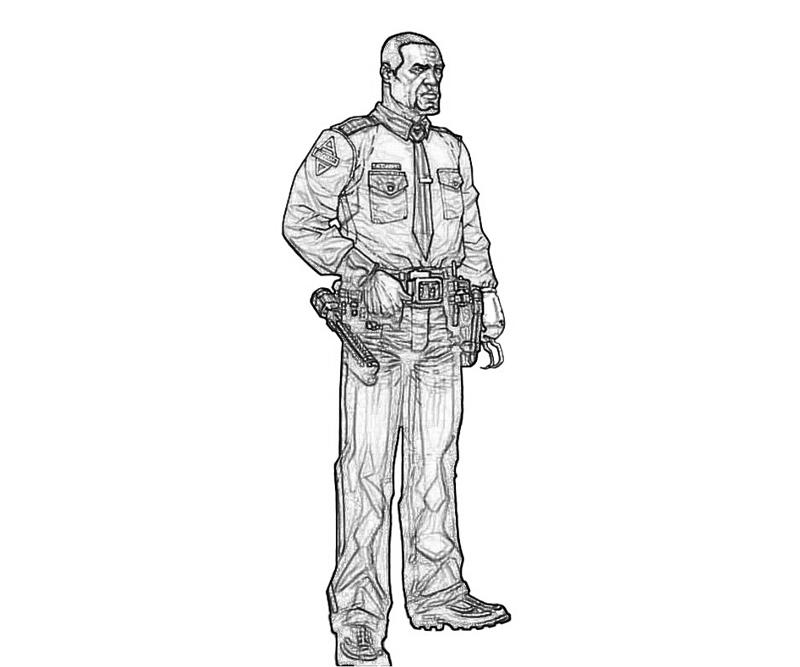 Batman Arkham City Aaron Character Coloring Pages title=
