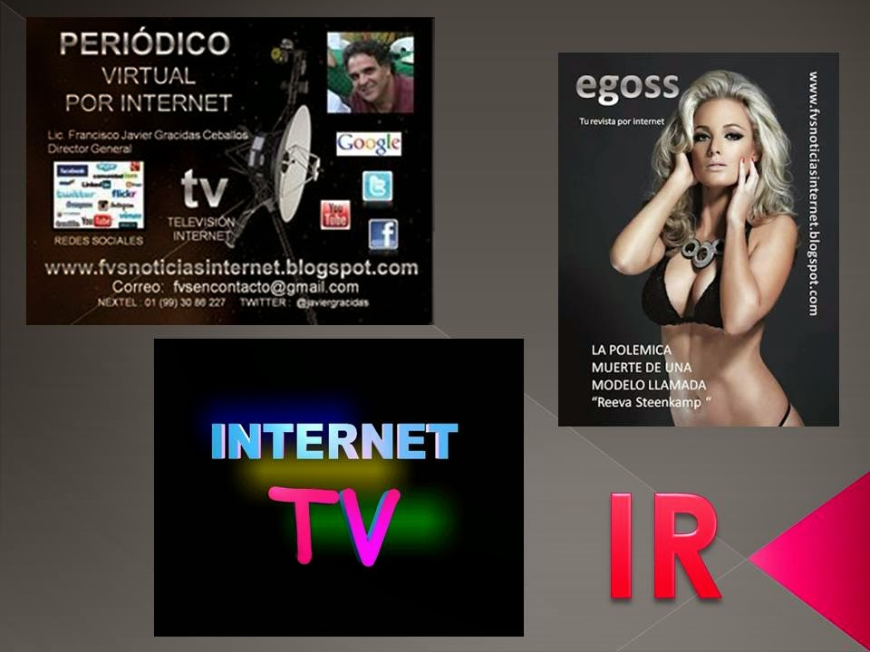 FVS NOTICIAS INTERNET & INTERNATIONAL PRESS TELEVISION RADIO AND MAGAZINE