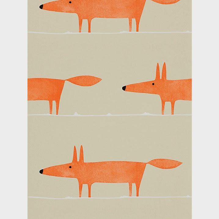 David dangerous scion fox wallpaper for John lewis bathroom wallpaper