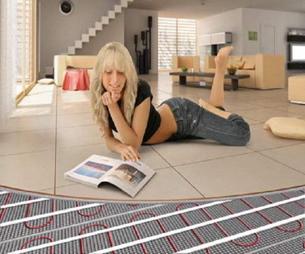 Azulejos para suelo simple como alternativa a la tenemos - Como instalar suelo radiante ...