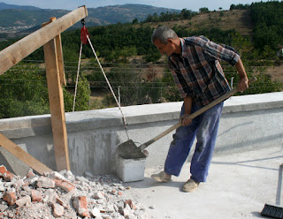 Shifting the rubble off the roof
