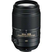 Nikon AF-S NIKKOR 55-300mm f/4.5-5.6G ED VR Zoom Lens (USA Warranty)