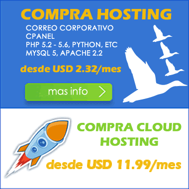 Compra Hosting o Cloud Hosting