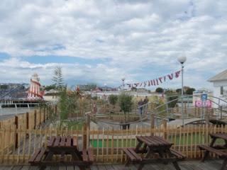 Minigolf course on Clacton Pier