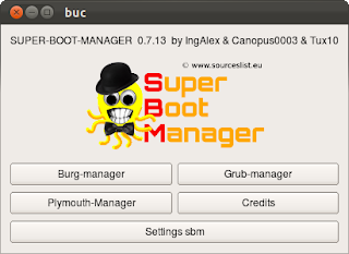скриншот Super Boot Manager