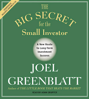 Joel Greenblatt: The Big Secret for the Small Investor