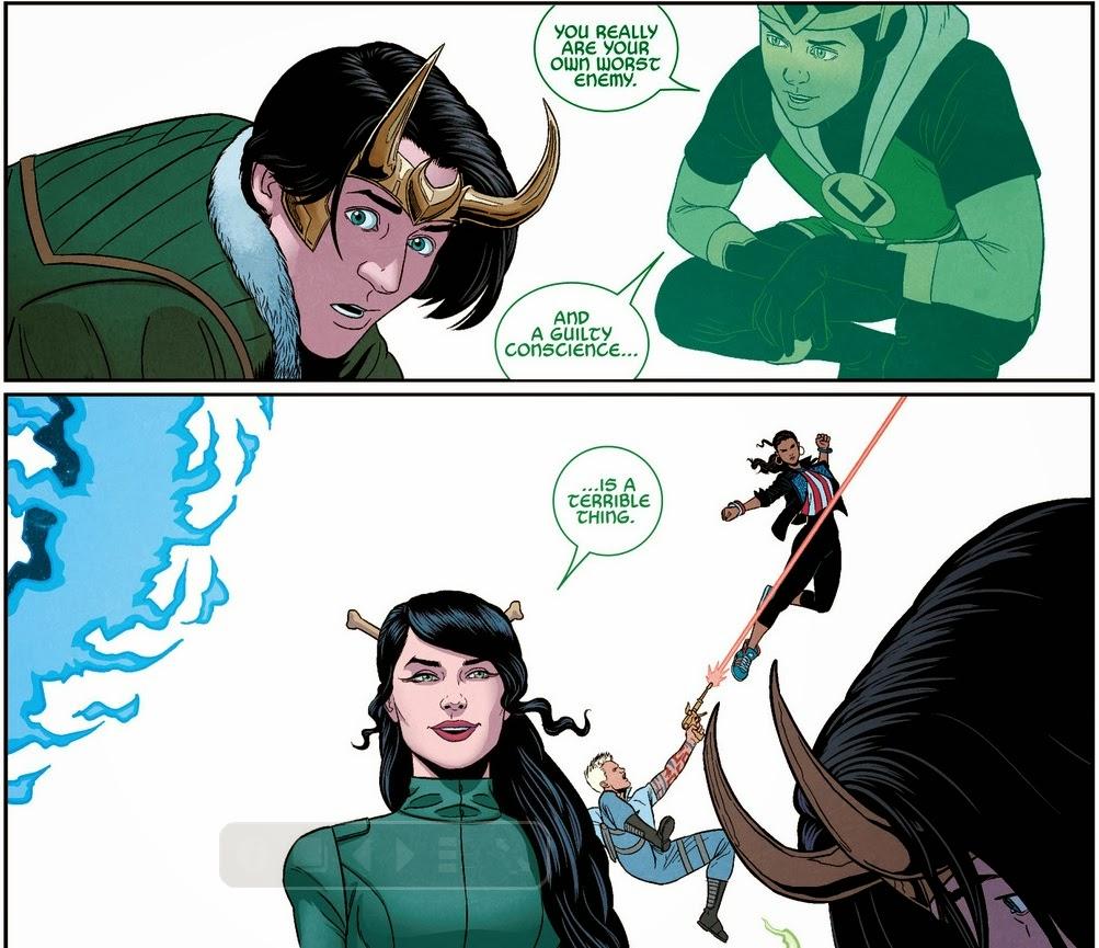 Loki Young Avengers Comics