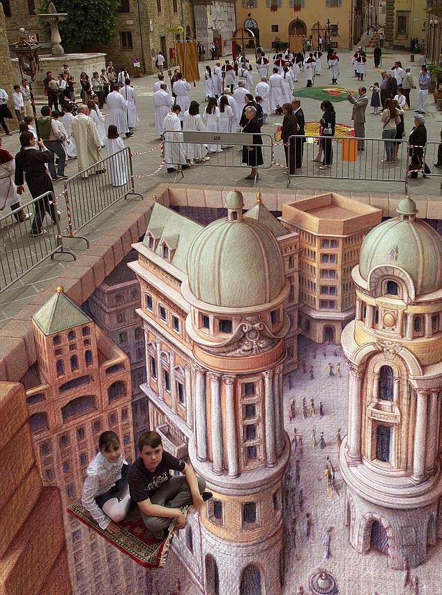 Awesome 3D Street Arts Optical Illusion