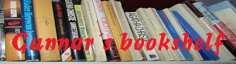 Gunnar´s bookshelf