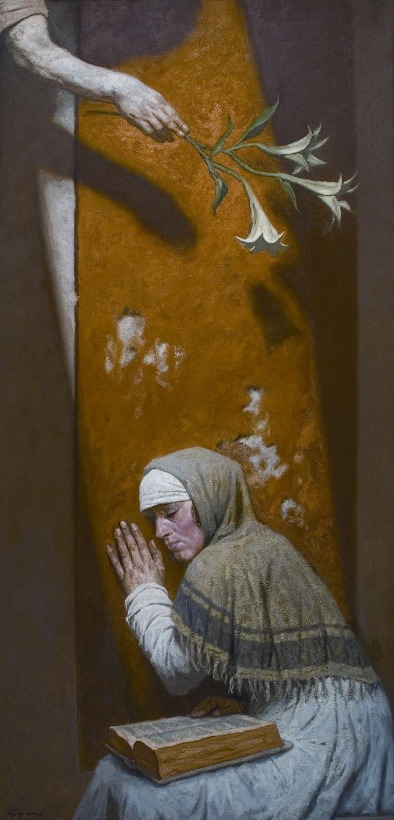 Gely Korzhev Annunciazione