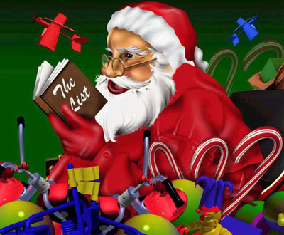 Božićne slike čestitke besplatne djed Mraz download free wallpapers e-cards Christmas Santa Claus