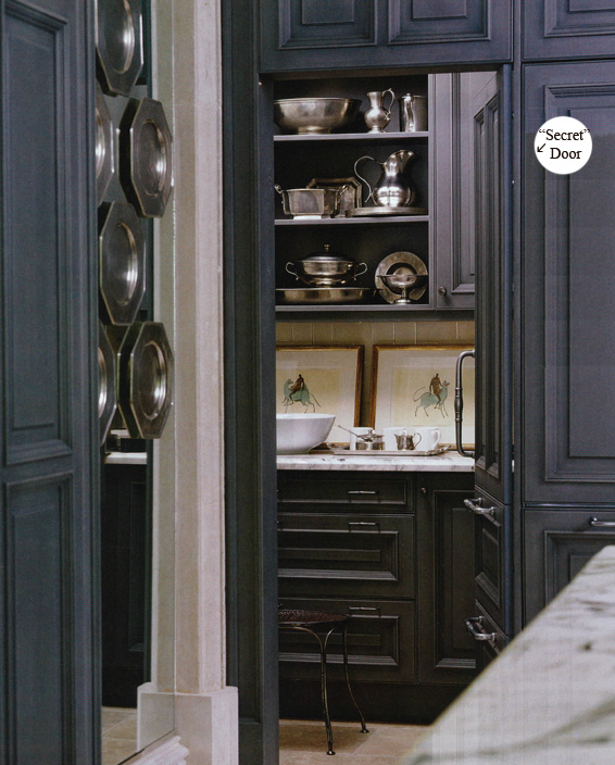 The Breathtaking Painted black kitchen cabinets+pictures Images