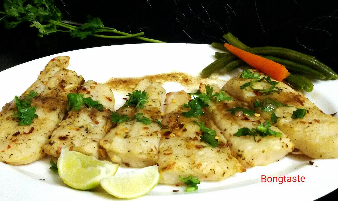 Bongtaste lemony butter grilled fish for Lemon cream sauce for fish