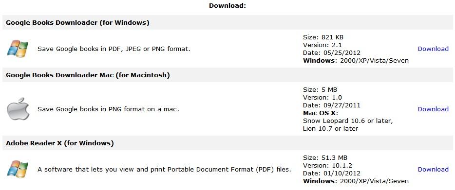 google books downloader portable full