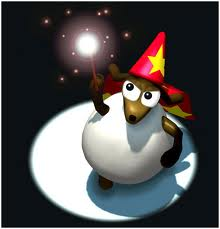 magic, sheep, wizard