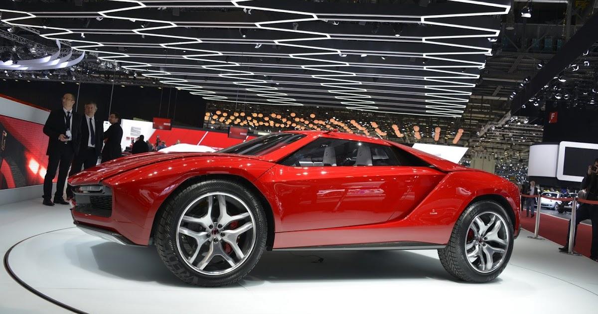 Italdesign Presents Lamborghini V10 Powered Parcour Concepts