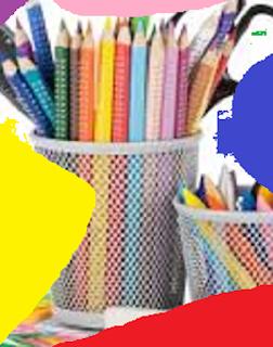 Lápis Coloridos Apontados 8