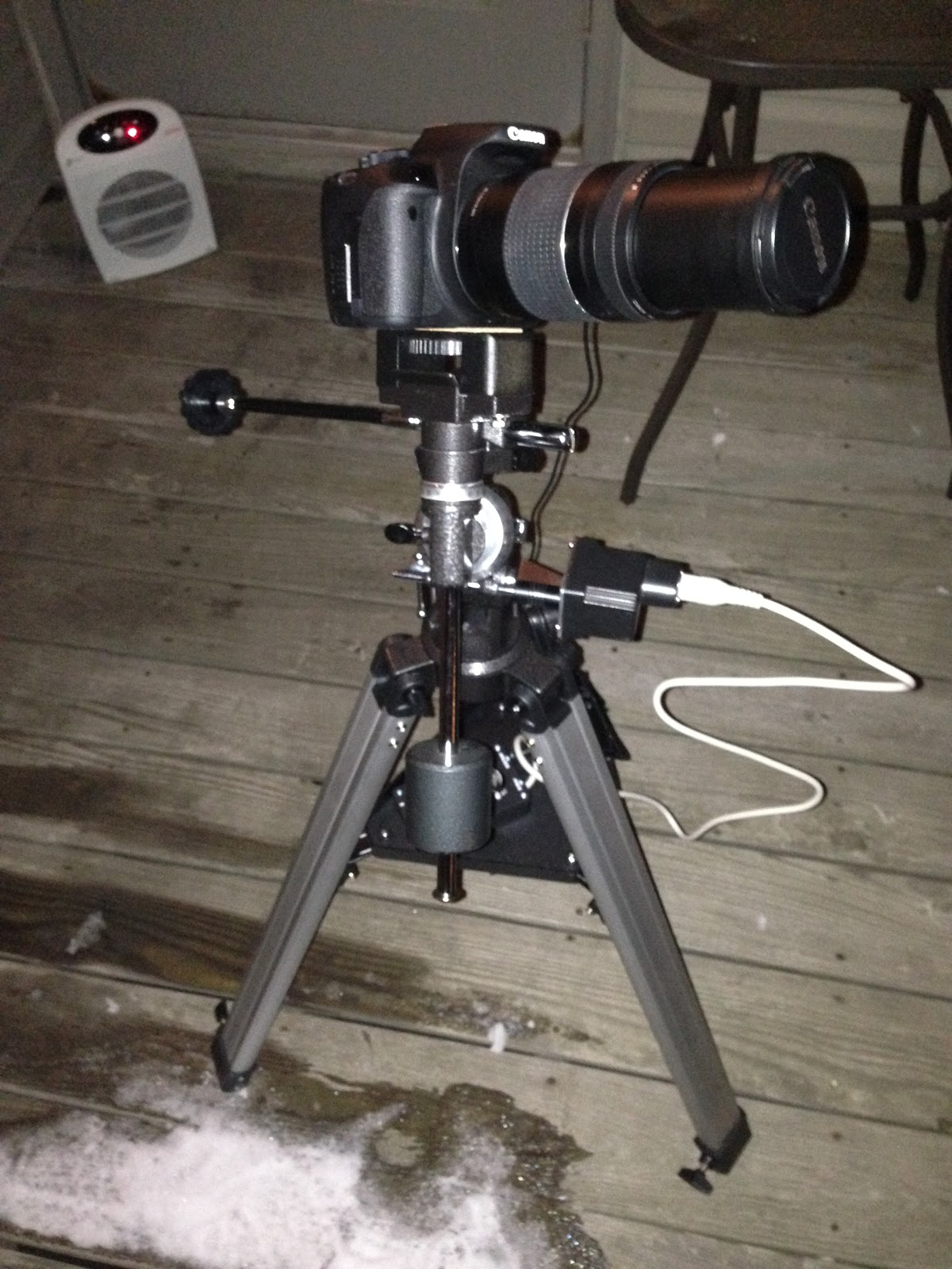 Orion 9011 EQ-1 Equatorial Telescope Mount